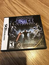 Star Wars Force Unleashed Nintendo DS Cib Game Works Great - VC2