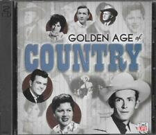 CD-GOLDEN AGE OF COUNTRY-WALTZ ACROSS TEXAS-2 DISC SET-FREE SHIPPING IN CANADA