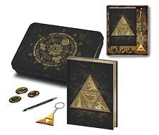 Official The Legend Of Zelda Premium Tri-Force Stationery Gift Set Pen Notebook