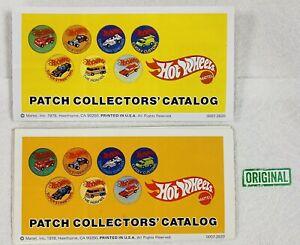 Hot Wheels Patch Catalog