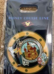 DCL Disney Cruise Goofy 2020 HTF MOC LE Pin