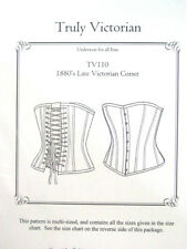 Sewing Pattern Truly Victorian TV110 Late Victorian Corset multi-sized uncut new