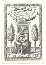 1820ca MADONNA DELL'ORTO Roma santino santini Gesù Bambino agricoltura