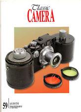 Classic Camera  N.59 Agosto 2006   rivista in italiano collezionismo fotografico