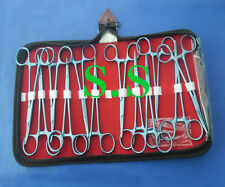 """Set of 12 Crile Forceps Curved 5.5"""" Titanium Surgical  Instrument"""
