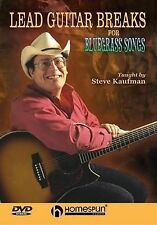 DVD-Lead Guitar Breaks For Bluegrass Songs
