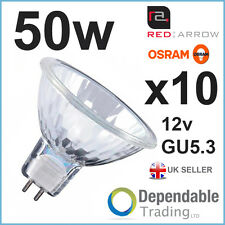 10x MR16 50w Halogen Reflektor 12v GU5.3 50mm Energiesparlampe 30 Grad Flutlicht