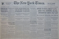 9-1933 September 25 GOEBBELS TO FIGHT TO REARM REICH. REICHSTAG FIRE HEARING.
