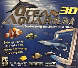 Ocean 3D Aquarium Screensavers Pc New XP 12 Realistic Tropical Fish to Dolphins
