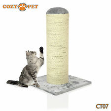Cozy Pet Deluxe Cat Tree Sisal Scratching Post Quality Cat Trees - CT07-Grey