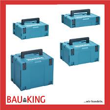 Makita MAKPAC 1/2/3/4 Systainer Systemkoffer Maschinenkoffer leer NEU versch. Gr