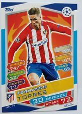 Topps Match Attax Champs league 2016/17 #ATL17 Fernando Torres - Ath Madrid