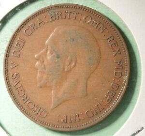 1936 Great Britain Penny  -  INV#GB191