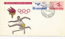 1960 Olympic Games Rome, FDC Belgian Congo.