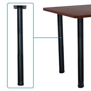4x28 inch DIY Furniture Table Legs Adjustable Durable Metal Coffee Table Legs