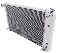 Champion Racing 4 Row Aluminum Radiator For 1970 - 88 Chevy/GM Cars