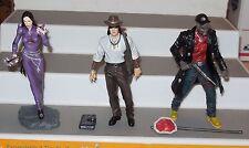 "2001 Diamond Select 3 Vampire The masquerade 5"" Action Figure collection Lot HTF"
