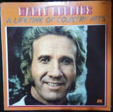 MARTY ROBBINS A LIFETIME OF COUNTRY HITS VINYL LP AUSTRALIA