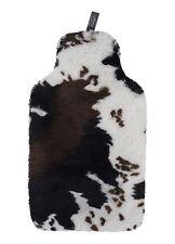 Fashy Wärmflasche 2l mit Fellimitat Im Kuh Design 6731025