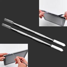 2 Pcs Silver Metal Spudger Set Repair Opening Pry Tool Kit for Apple iPad iPhone