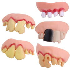 Bogan Hillbilly Ugly False Fake Teeth Funny Halloween Costume Party Dress Up