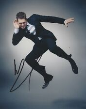 Michael Buble Signed 10x8 Photo AFTAL