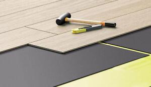XPS Underlay- Laminate or Wood Flooring - 5,0 mm - Like Fibreboard - Insulation