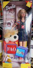 Barbie-Fun à FAO - 1999 édition spéciale FAO Schwarz + Patrick le Pup Boîte d'origine jamais ouverte