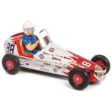 Tobar Sprint Race Car 23cm Tin Wind up Clockwork Classic Toy Collectible Item