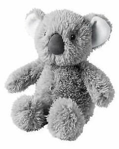 HTF NWT Carters Grey Gray Plush Koala Bear Stuffed Animal Baby Toy Lovey 66934