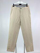 Brooks Brathers Clark Men's Pants Trousers 54% Linen 46% Cotton Size W34/L34