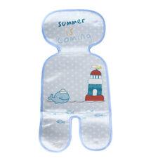 Newborn Stroller Seat Mat Infant Pram Breathable Ice Silk Cool Toddler Pad 6A