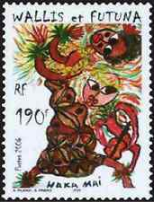 Timbre Folklore Wallis et Futuna 653 ** année 2006 lot 2439