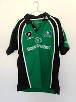 Connacht Green Rugbytech Training Bank Of Ireland Rugby Jersey Size L