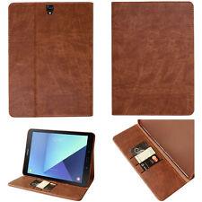 COVER in pelle per Samsung Galaxy Tab s2 t810 t813 t815 t819 Case Custodia Protettiva Borsa