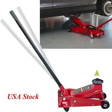 3 Ton Floor Jack Aluminum handle Steel Low Profile Quick Pump Lifting Car Garage