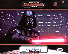 DAVE PROWSE Signed Darth Vader STAR WARS 8x10 OfficialPix Photo PSA/DNA #AD97656