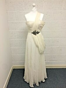 JS Collections Evening Gown Dress - Special Occasion Cocktail - Size UK 6 - BNWT
