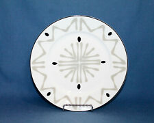 "LIMOGES Bill Goldsmith ""Florida"" Gray Salad Plate 8.75"""