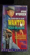 Wanted Dead or Alive VHS Steve McQueen To the Victor Medicine Man VOL 2 -NEW!