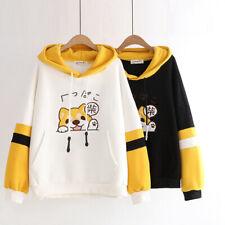 Kawaii Clothing Hoodie Harajuku Fleece Sweatshirt Sudadera Doge Dog Sweater