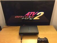 PS2 PlayStation 2 Console Only - Black Tested Works Good.