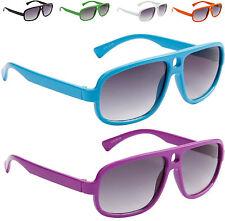 New Children's Sunglasses Kids 3 years Boys Girls Black Pink Blue Aviator 8118