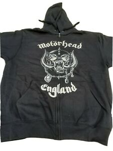 "Motorhead ""England "" zipped Hoody size Medium. 100% official."