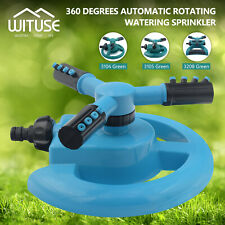 Mobile Automatic 360 Degree Rotating Spray Garden Lawn Sprinkler Irrigation 228