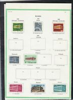 europa 1967/68 stamps page ref 18440
