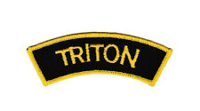 Triton Shoulder Embroidered Patch