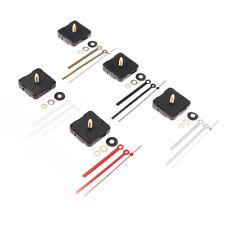 1Set DIY Quarzuhr Silent Wanduhr Uhrwerk Uhrenteile mit Nadeln reparieren BOD