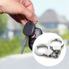 Zinc Alloy Mini Size Handcuffs Gadget Gift Craft Key Chains  Keyring Keychain