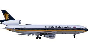 1:400 AeroClassics British Caledonian DC-10-30 Passenger Airplane Diecast Model